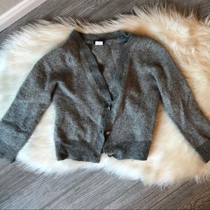 J. Crew Cashmere and Wool Cardigan